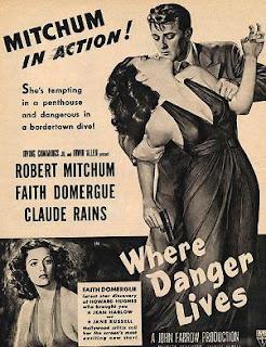 Donde habita el peligro 1950   Carátula