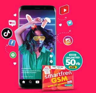 Paket Internet Unlimited - Smartfren