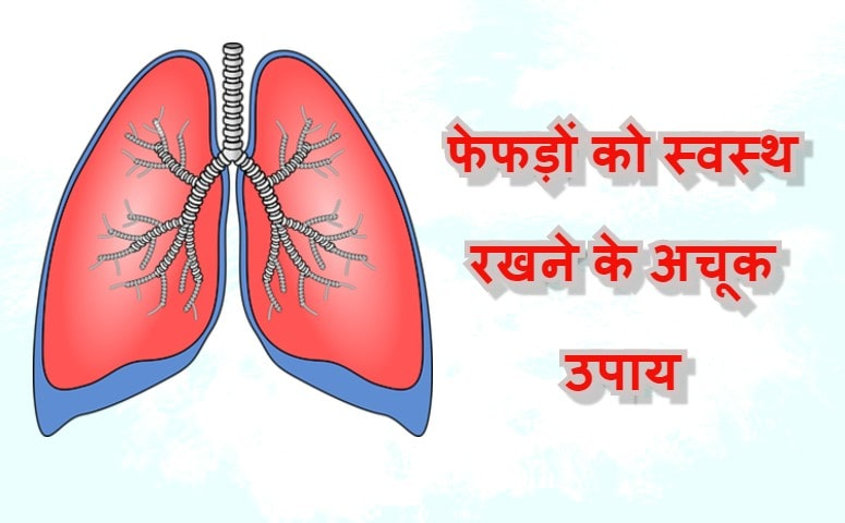 फेफड़ों (लंग्स) को स्वस्थ रखने के लिए 9 अचूक उपाय और योगासन |  healthy lungs in hindi
