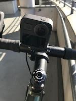 GoPro MAX ステムマウント 後ろから