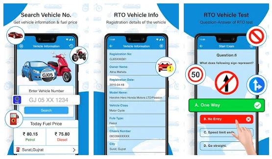 Rto Vehicle Information App For Android