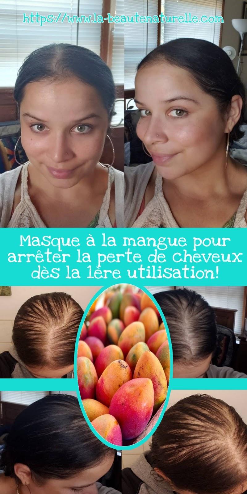 Masque à la mangue pour arrêter la perte de cheveux dès la 1ère utilisation!