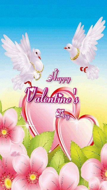 download besplatne slike za mobitele 360x640 čestitke Valentinovo dan zaljubljenih Happy Valentines Day