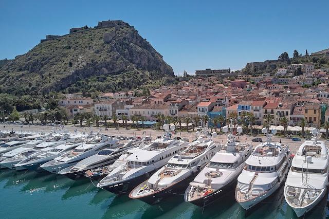 Το Mediterranean Yacht Show επιστρέφει για 7η χρονιά στο Ναύπλιο