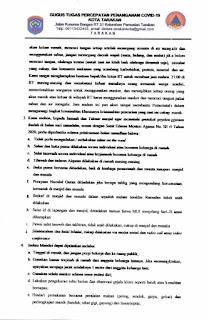 Press Release COVID-19 Tarakan 30 April 2020 - Tarakan Info