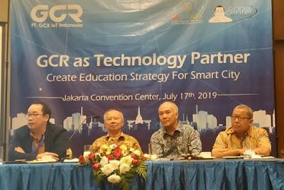 GCR Kembangkan Strategi Pendidikan pada Smart City