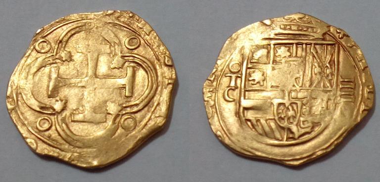 4 Escudos Toledo Felipe II/Felipe III 4eTF