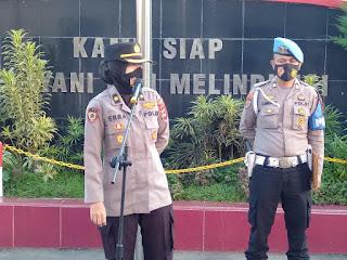 Sebagai Bentuk Pengawasan dan Monitoring, Tim Supervisi Polres Gowa Kunjungi Polsek Jajaran
