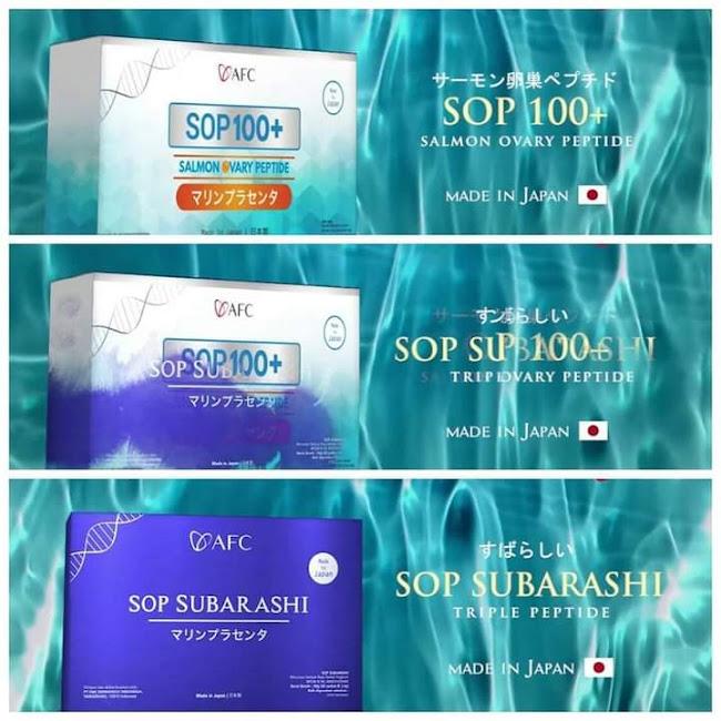 Agen Jual: SOP Subarashi Made In Japan, SOP 100+ Vs SOPalpha, di Mauritania