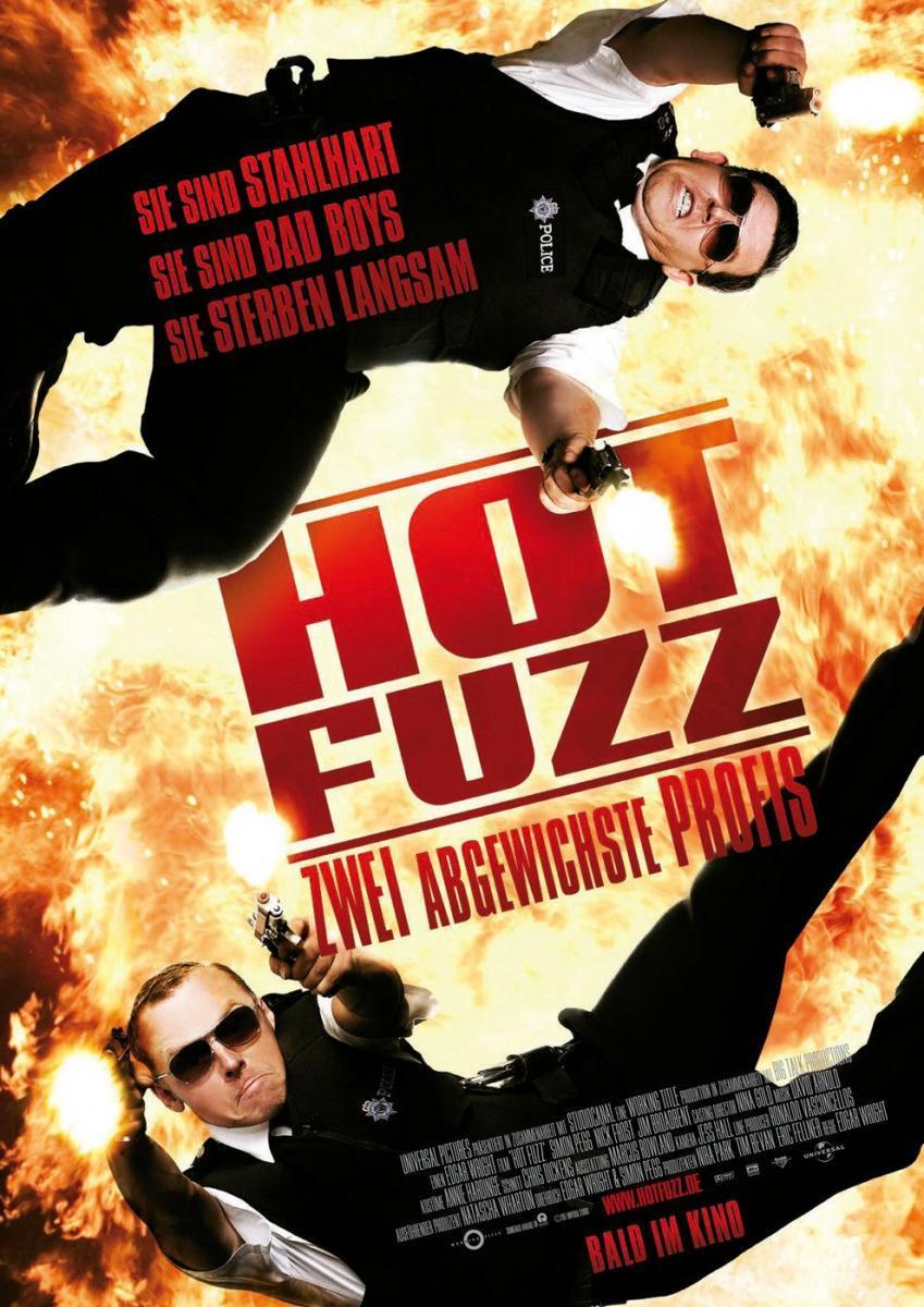 Download Hot Fuzz (2007) Full Movie in Hindi Dual Audio BluRay 720p [1GB]