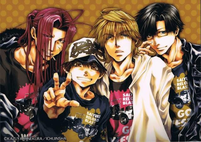 Manga Saiyuuki tendrá nueva serie de anime