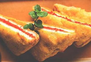 Bread Pakoda special