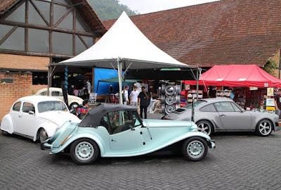 Fusca, MP Lafer e Porsche: todos com motor boxer.