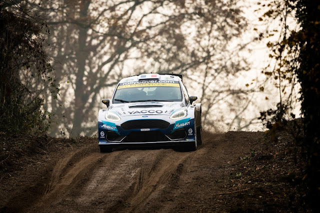 Adrien Fourmaux on the Monza Rally