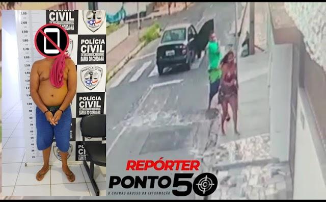 Suspeito de tentar matar ex-namorada com 9 facadas no meio da rua é preso fugindo para o Maranhão