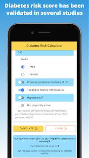 Diabetes risk score has been validated in several studies