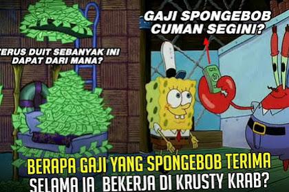 Inilah Gaji SpongeBob selama Bekerja di Krusty Krabs