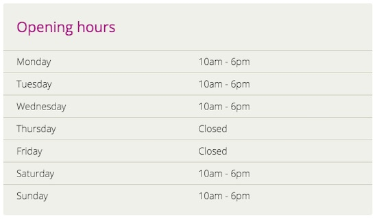 Potters Bar recycling centre opening hours