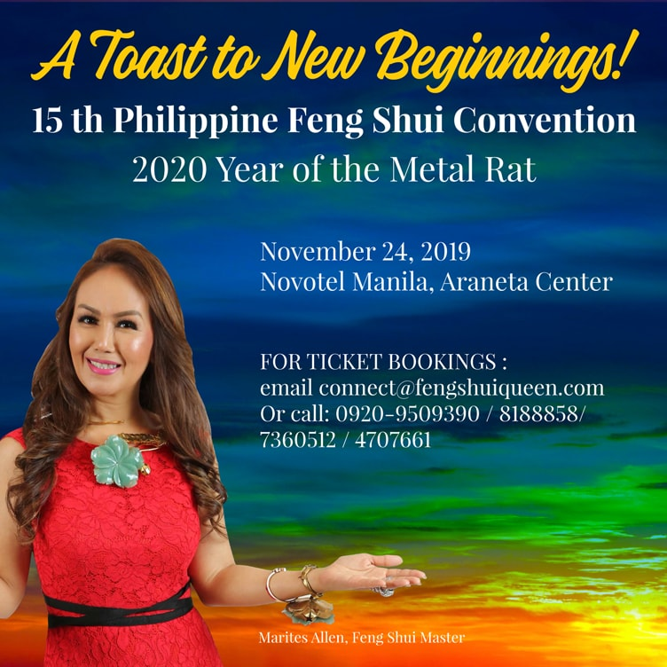 15th Philippine Feng Shui Convention - Year of the Metal Rat 2020