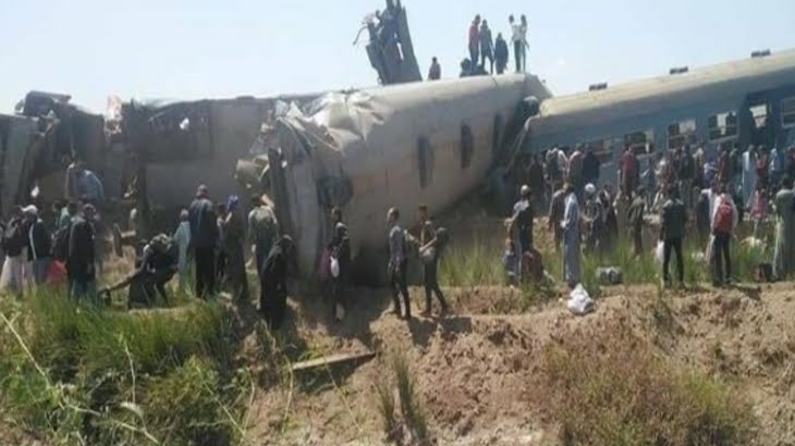 Major accident in Egypt: 32 people killed, 66 injured in a face-to-face collision of two trains