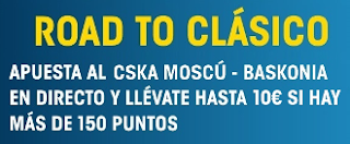 william hill promocion CSKA Moscú vs Baskonia 20 abril