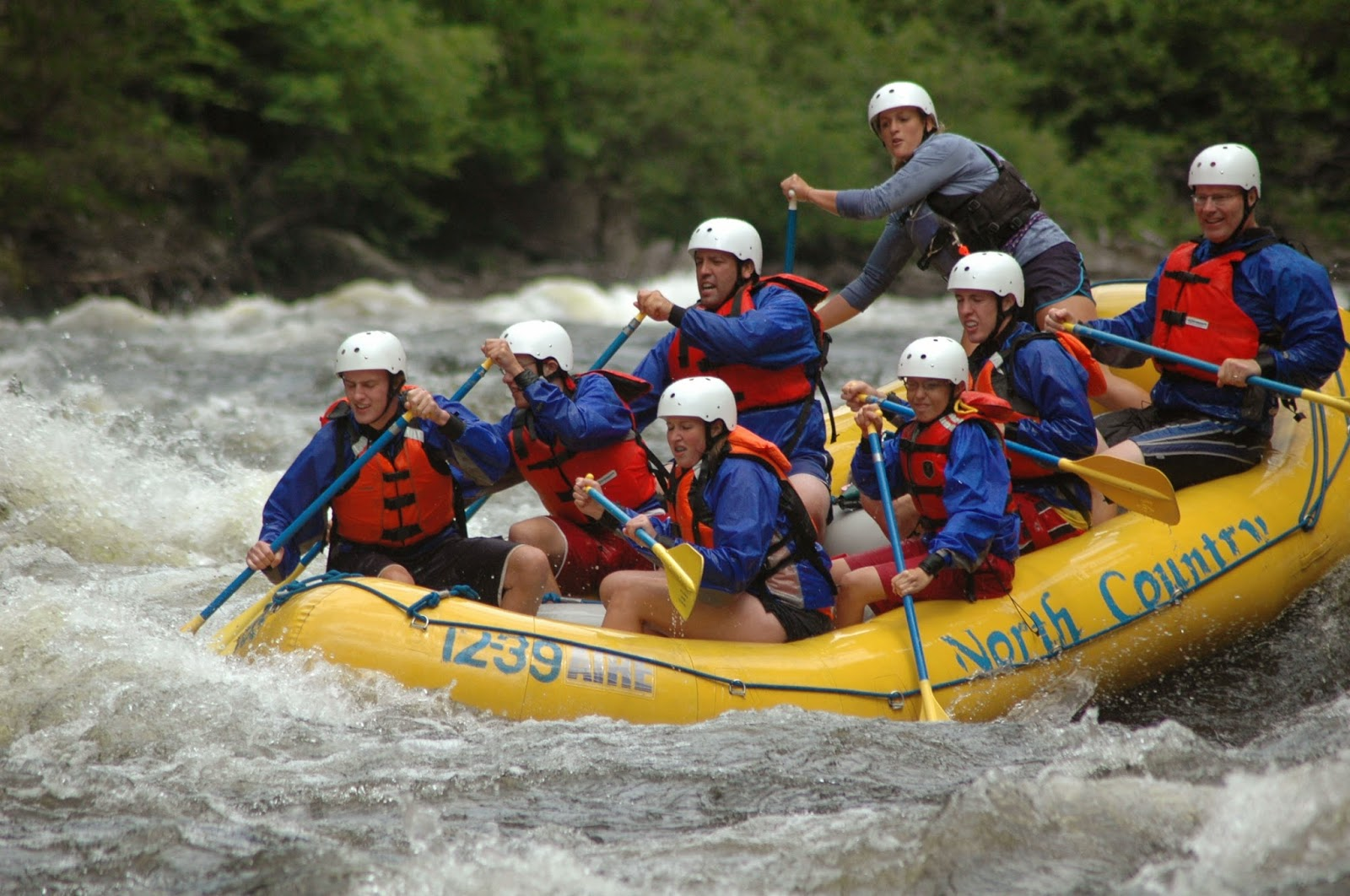 Boys in the Good: White Water Rafting, Kennebunk River, Maine
