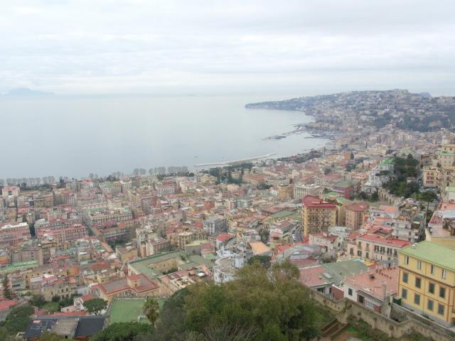 wybrzeże Neapolu, miasto, widok