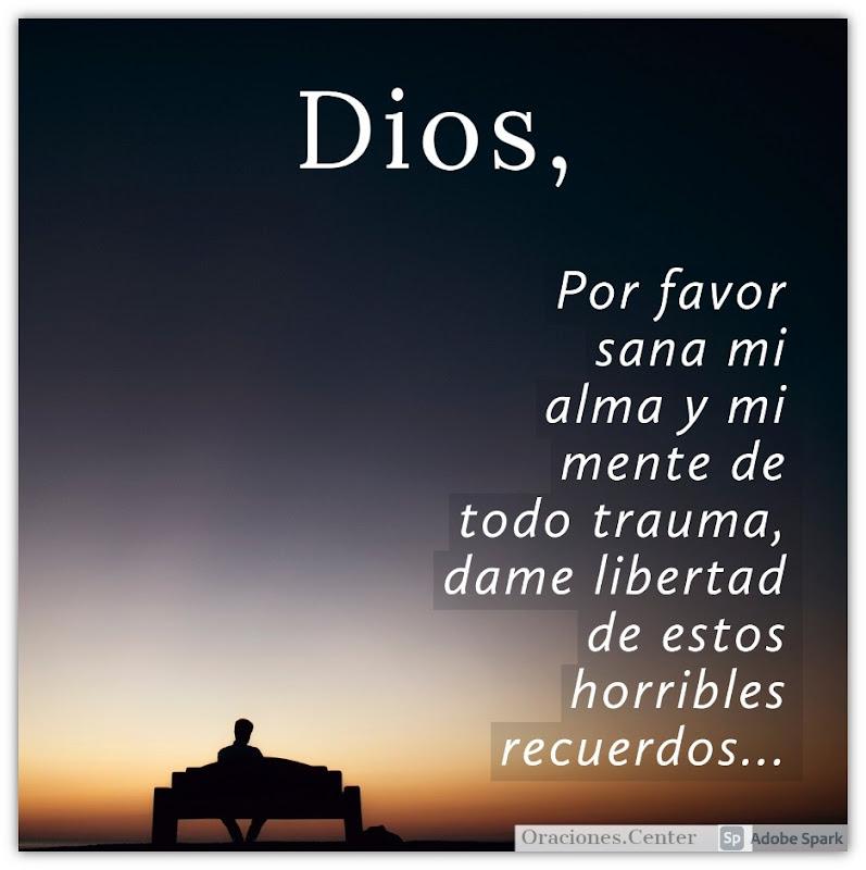 Oración para Sanar Traumas