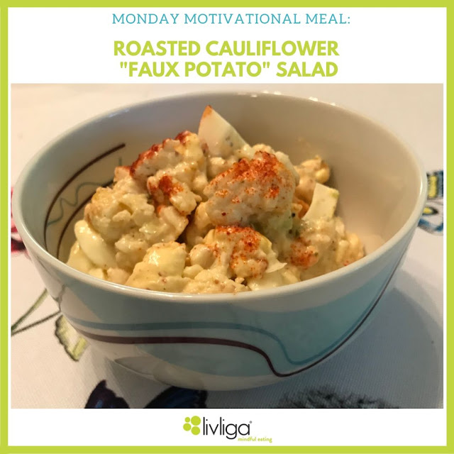 Monday Motivational Meal in Halsa Portion Control Bowl