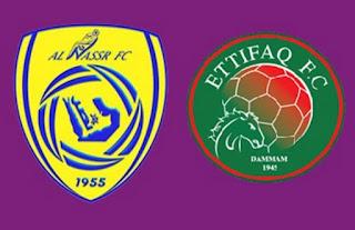 مشاهدة مباراة النصر والاتفاق بث مباشر بتاريخ 11-11-2018 الدوري السعودي