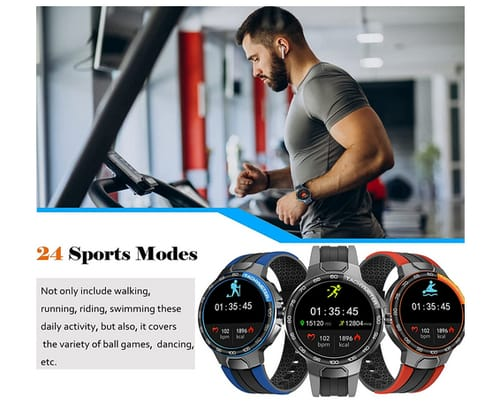 Pard Professional Fitness Tracker Men Women Smart Watch