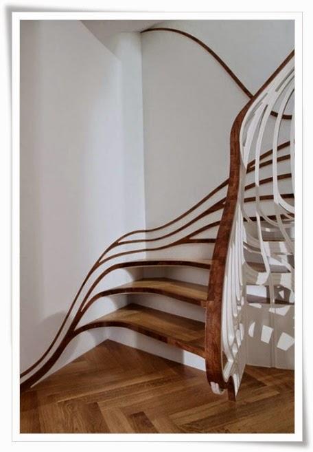 Contoh Gambar Tangga Rumah Minimalis Modern Eropa | Aku ...