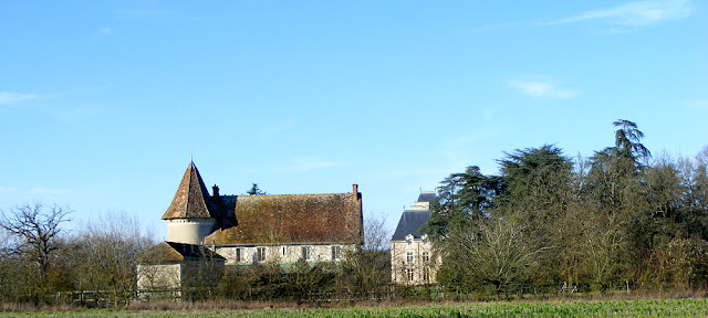Lodge and Chateau du Bois d'Aix.  Indre et Loire, France. Photographed by Susan Walter. Tour the Loire Valley with a classic car and a private guide.