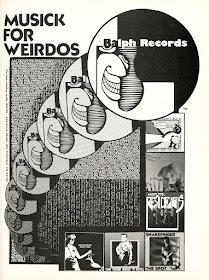 Ralph Records' Musick for Weirdos