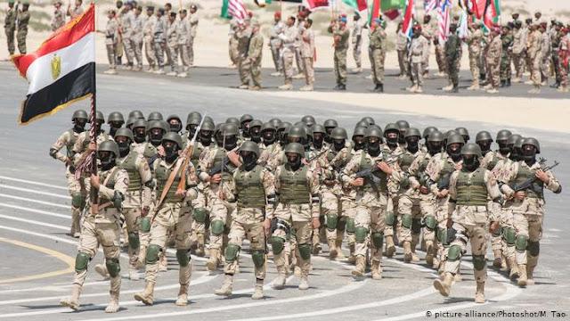 Η Αίγυπτος υπερέχει στρατιωτικά της Τουρκίας