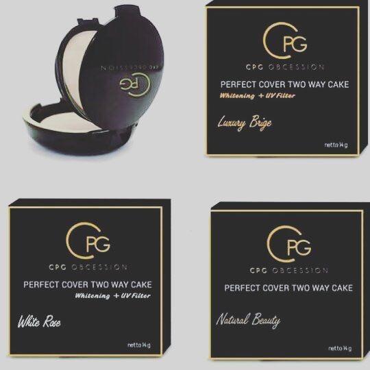 bedak padat cpg, bedak cpg, cpg compact powder, cpg cosmetics