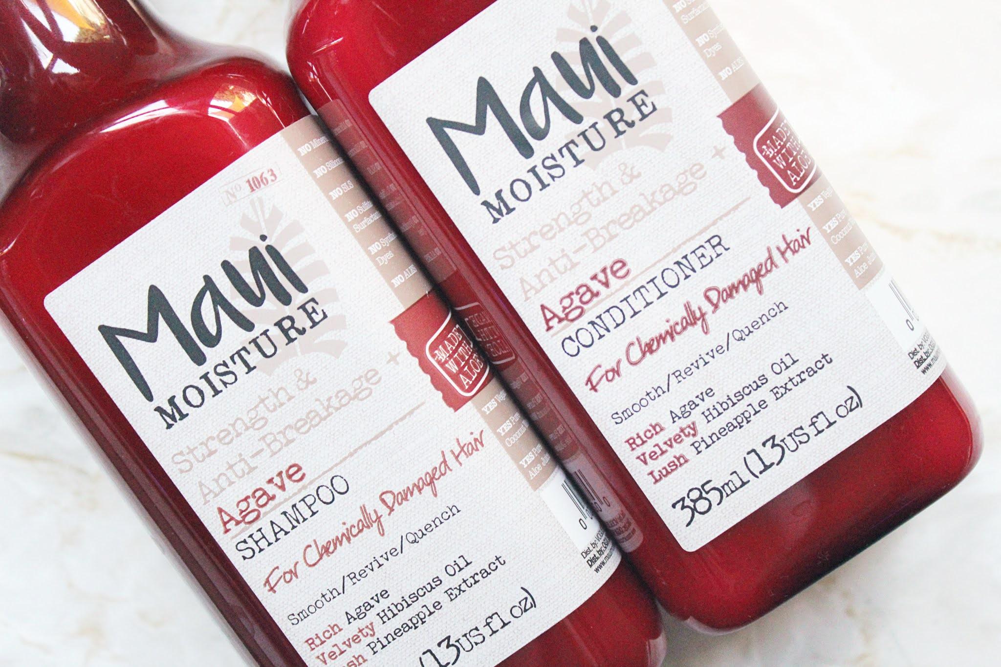 Maui Moisture Agave Shampoo & Conditioner Review