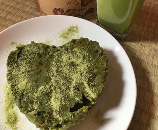 Kek Batik Matcha