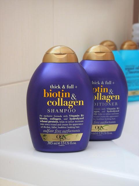 ogx sampon a kondicioner na vlasy