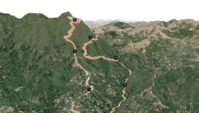 Planejamento de rotas 3D do Strava vai facilitar a visualização dos trechos - Foto: Strava / Divulgação
