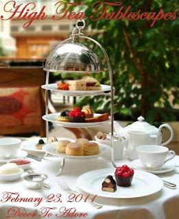 High Tea Tablescapes