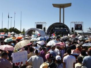 Mundial reúne 50 mil no Rio