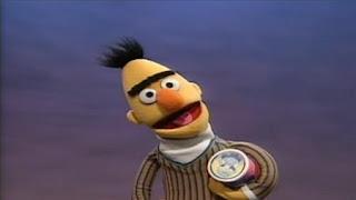 Bert sings Oatmeal Box. Sesame Street Let's Make Music
