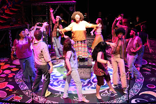 Cast of New Line Theatre's HAIR, 2008