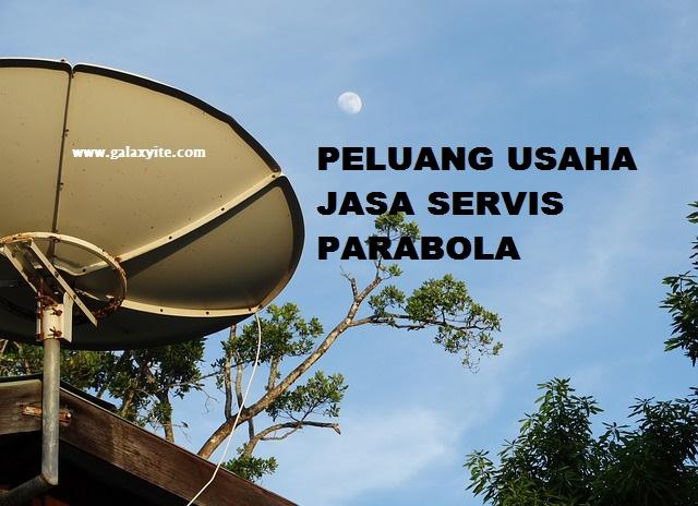 peluang usaha di bidang parabola