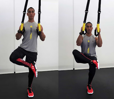 TRX Figure 4 Stretch
