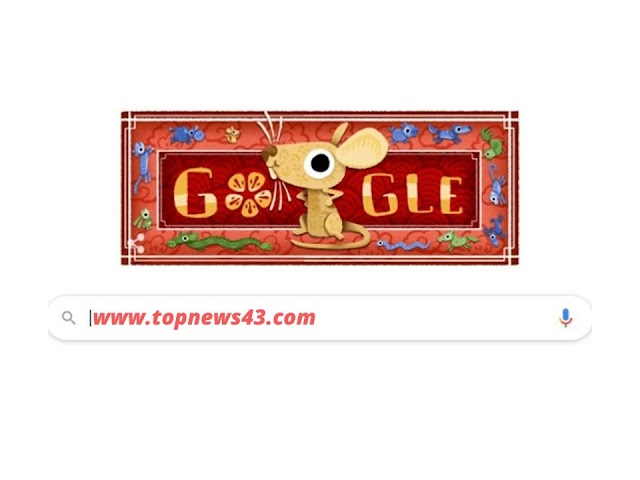 Google Doodle Today - All About The Lunar New Year 2020