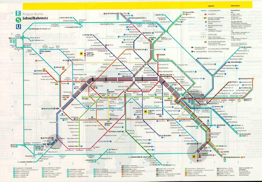 Etwas Neues genug maps of dallas: Berlin Metro Map &LH_01
