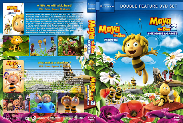 Maya the Bee Double Feature DVD Cover