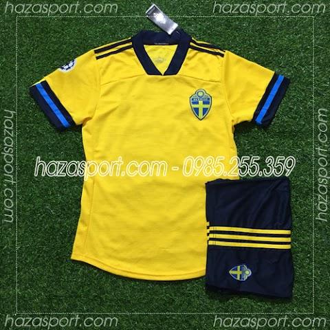 Tổng Hợp Áo Bóng Đá Đẹp Đội Tuyển Thụy Điển 2020